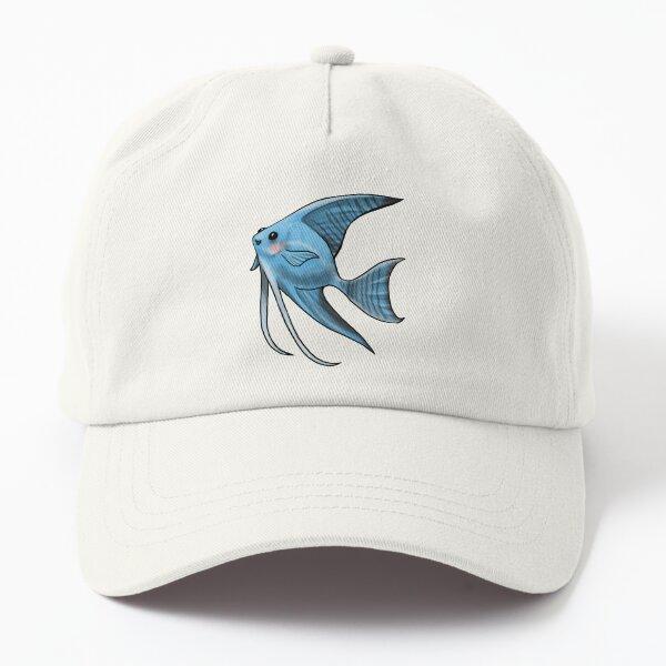 Blue Blushing Angelfish Dad Hat