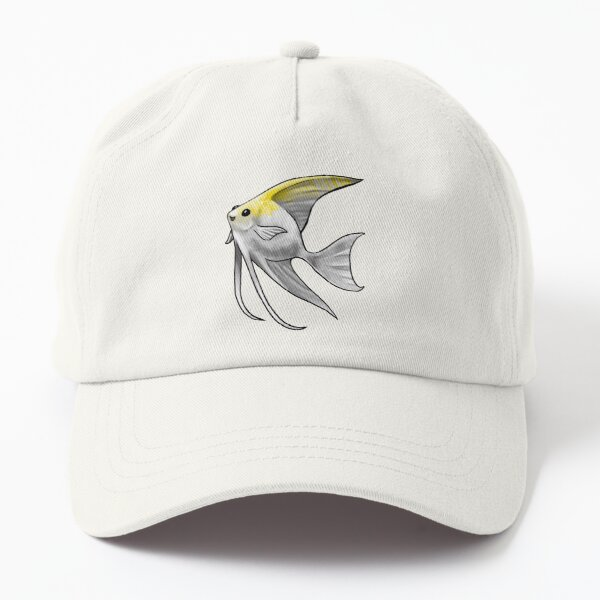 Gold Pearl Scale Angelfish Dad Hat
