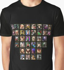 Mortal Kombat 3 Trilogy Character Select Graphic T-Shirt