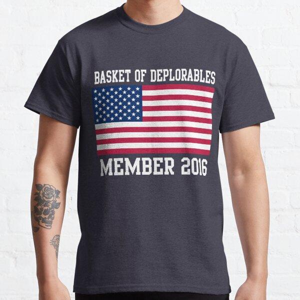 Basket of Deplorables Member 2016 Classic T-Shirt
