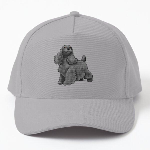 Cocker Spaniel - Black Baseball Cap