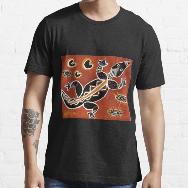 Tribal Crocodile Essential T-Shirt