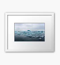 Glacial Recognition Framed Print