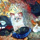 Cats Love by ienemien