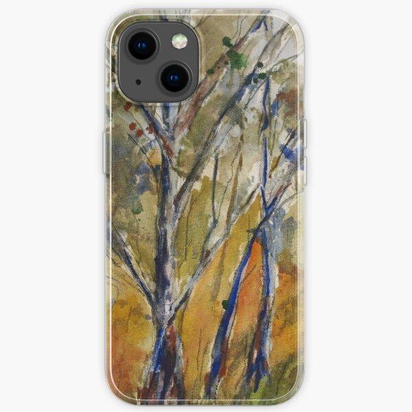 Pyalong {watercolour on canvas} iPhone Soft Case