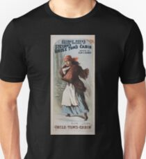 Performing Arts Posters George Pecks grand revival of Stetsons Uncle Toms cabin booked by Klaw Erlanger 0668 T-Shirt