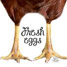 Fresh Eggs by Sue Ellen Thompson