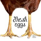 Fresh Eggs by Sue Ellen Thompson