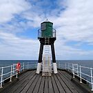 Whitby Harbour Jetty by Andy Coleman