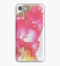 pink gladiola iPhone Case/Skin