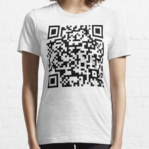 Rick Roll QR Code Essential T-Shirt