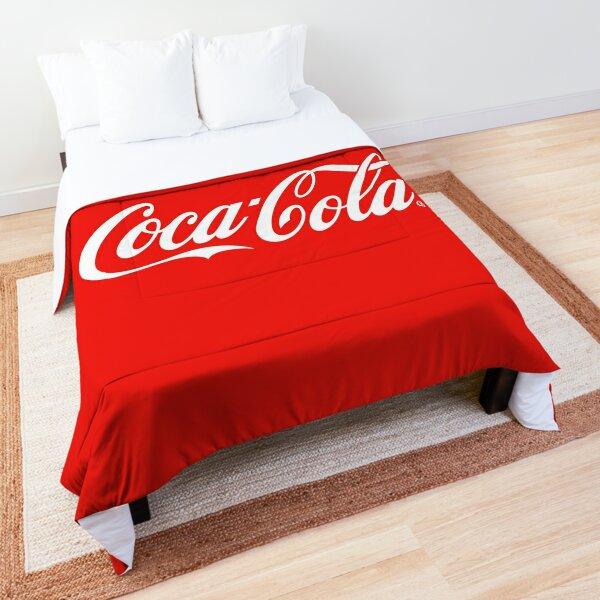Coca Cola Original Red Logo Comforter