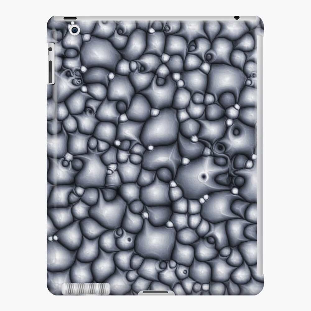 Abstract Blue Clusters iPad Case & Skin