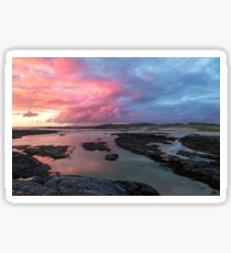 Sunset at Sanna Bay Sticker