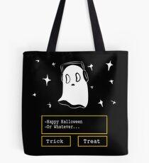 nabstablook says happy halloween!  Tote Bag