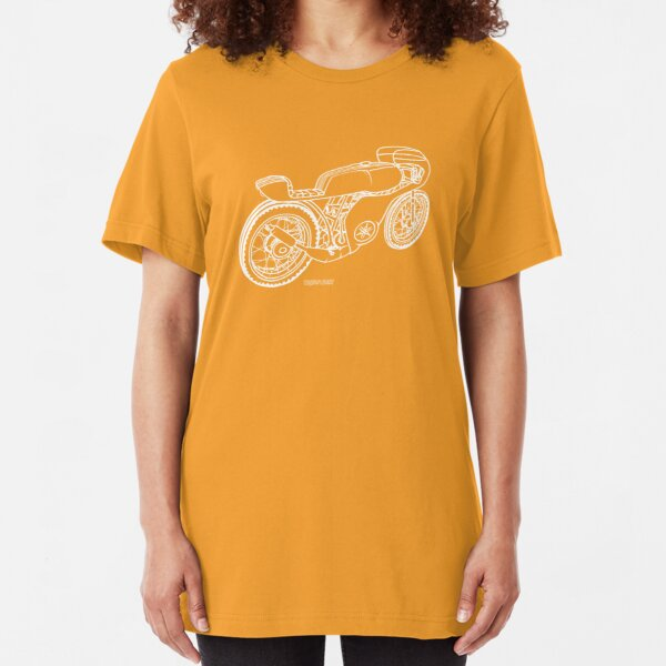 ArDee 400 Cafe Racer Slim Fit T-Shirt