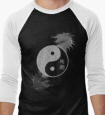 Ying Yang - Equlibrium Men's Baseball ¾ T-Shirt