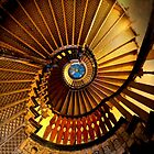 Golden stairs by JBlaminsky