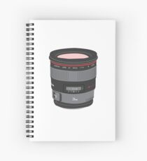 Prime Time - Lens Only Spiral Notebook