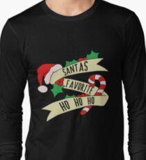 Santa Ho Ho Ho Long Sleeve T-Shirt