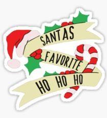 Santa Ho Ho Ho Sticker