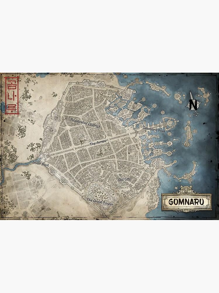 Map of Gomnaru by aurelienlaine