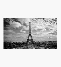Paris, Eiffel Tower from Trocadero Photographic Print