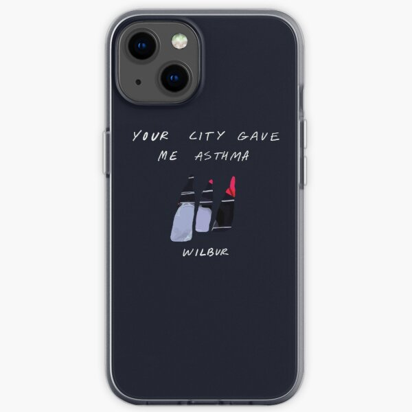 Your City Gave Me Asthma - Minimalist Album Cover iPhone Soft Case