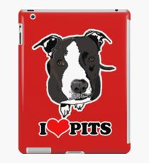 I Love Pit Bulls iPad Case/Skin