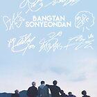 BTS Signature light blue Edit by Yuki876578