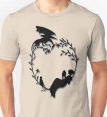 Ex Libris - Black with shadow Unisex T-Shirt