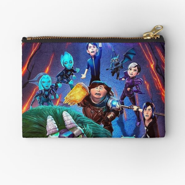 Trollhunters Rise Of The Titans Zipper Pouch