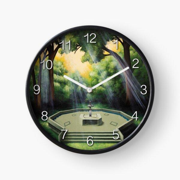 Pedestal of Time Clock