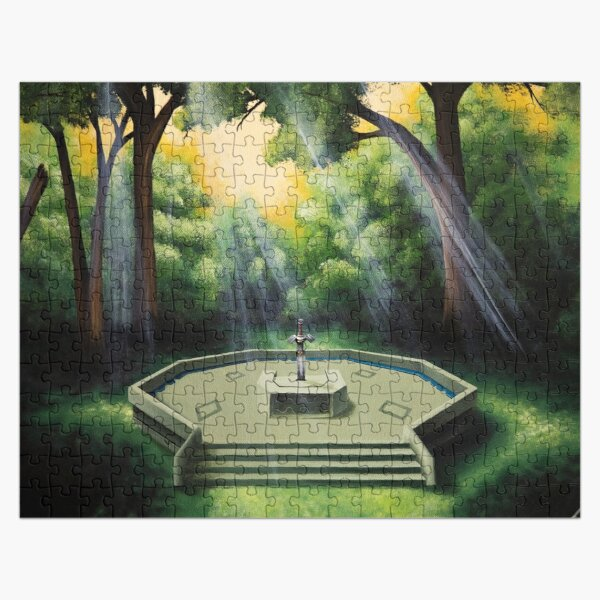Pedestal of Time Jigsaw Puzzle