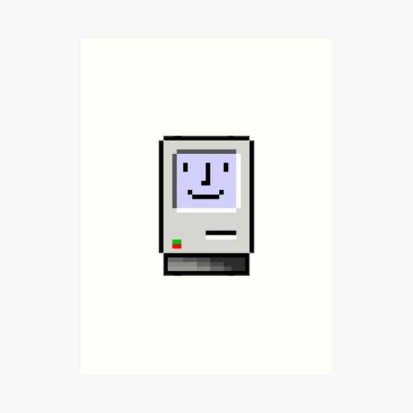 8 bit Macintosh Art Print