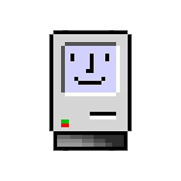 8 bit Macintosh by thedeo