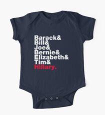 Democrats Helvetica One Piece - Short Sleeve