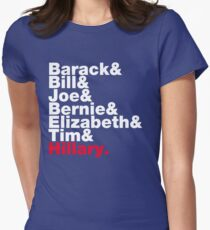 Democrats Helvetica Women's Fitted T-Shirt
