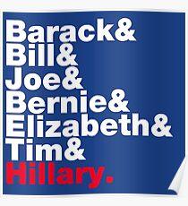 Democrats Helvetica Poster