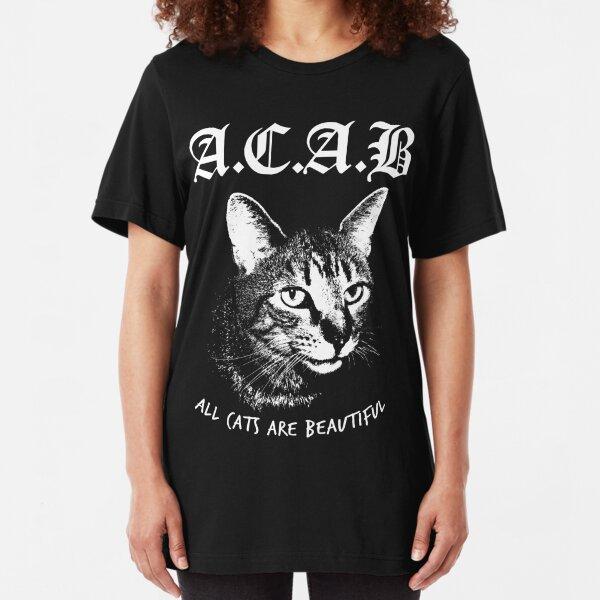 ACAB.  Slim Fit T-Shirt