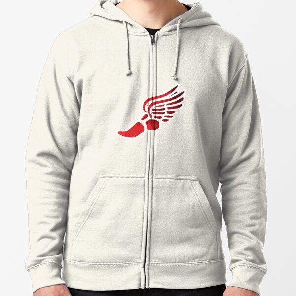School Spirit Sweatshirt Ombre Buffalo State College Girls Zipper Hoodie