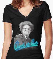 Dingus 2.0.  Women's Fitted V-Neck T-Shirt