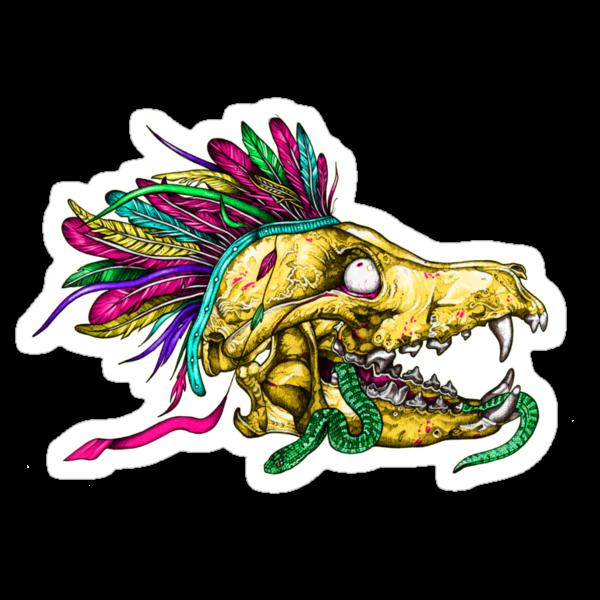 Wolf Skull by Squishysquid