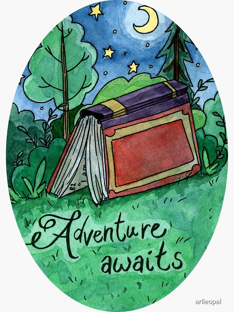Adventure Awaits  by arlieopal