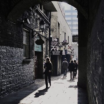 Temple Bar archway by kittymitch