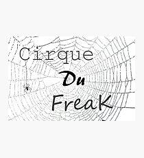 Cirque Du Freak Photographic Print
