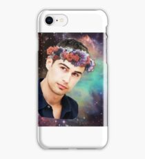 Theo James-Flower Crown iPhone Case/Skin