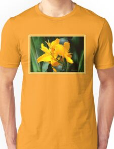 A Bright Spot by the Pond ~ Cannas T-Shirt