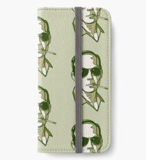 Hunter S. Thompson green iPhone Wallet/Case/Skin