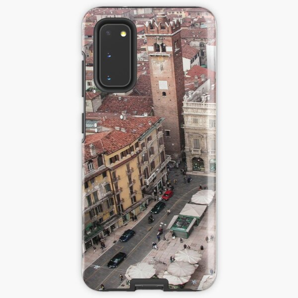 Piazza Erbe, Verona, Italy Samsung Galaxy Tough Case
